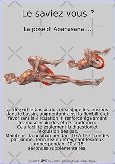 🧘‍♀️La pose d'Apanasana🧘‍♂️ Ashtanga Vinyasa Yoga, Iyengar Yoga, Yoga Fitness, Yoga Gym, Yoga Flow, Yoga Meditation, Yoga Sequences, Yoga Poses, Asana