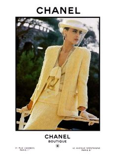 CHANEL I have always loved the beautiful simplicity of a Chanel suit.