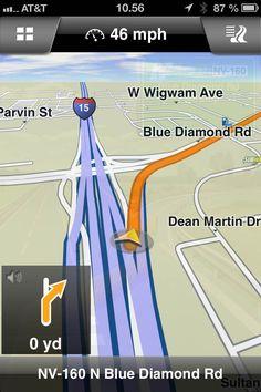 Familien Matthäi Leland i USA 2013: Anmeldelse: Brug din iPhone eller iPad som GPS