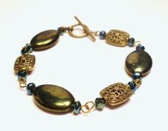 Green Copper Bracelet by designsbylaurie on Etsy, $15.00