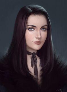 Image result for brunette drawing