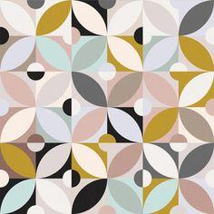 Shop Over 1 Million Fabric Designs | Spoonflower Trailer Interior, Mint, Retro, All Design, Spoonflower, Fabric Design, Modern, Bamboo, Mid Century