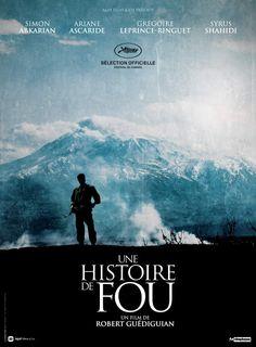 Affiche teaser du film Une histoire de fou, de Robert Guédiguian.