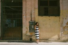 Zippora Seven and Teresa Oman shot by Ali Mitton in Havana, Cuba for BB Dakota Summer 2016