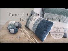 How to Cast on Stiches in Tunisian Crochet by Pescno & Søstrene Grene