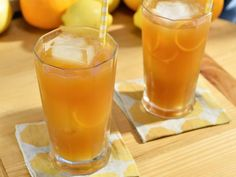 Get Orange Bourbon Iced Tea Recipe from Food Network