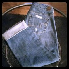 Capri Jean capris American Eagle Outfitters Jeans Ankle & Cropped