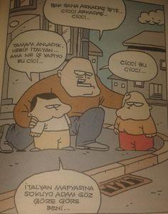 İtalyan Mafyası Karikatürü