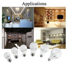 Low Price LED Bulbs, E27, Globe Shape, 85V~265V, Replaces Traditional Incandescent - Application