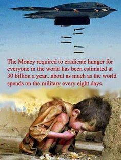 Image result for the money spent to eradicate hunger