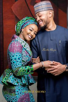 Rufai and Fatima Caught the Love Bug! See their Love Story & Pre-Wedding Photos | George Okoro Weddings