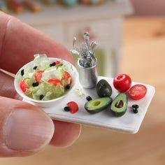 Miniature salad www.parisminiatures.etsy.com