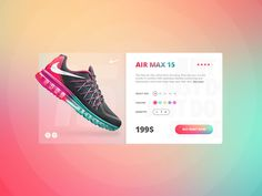 Nike store concept designed by Nik Ere for Lanp. Connect with them on Dribbble; the global community for designers and creative professionals. Web Design, App Ui Design, Mobile App Design, Store Design, Graphic Design, Gui Interface, Card Ui, Instagram Marketing Tips, Ui Web