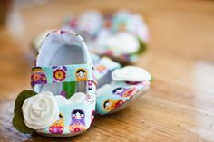Nesting Doll booties