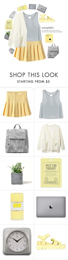 """💛"" by credendovides ❤ liked on Polyvore featuring Rough Fusion, Love 21, Fujifilm, Infinity Instruments and Xiao Li"