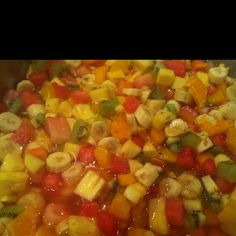 Vitamins... Mauritius, Fruit Salad, Salsa, Vitamins, Mexican, Ethnic Recipes, Food, Fruit Salads, Essen