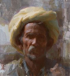 Susan Lyon - Yellow Turban