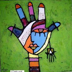 Ens agrada molt la pintura figurativa de Taieb Ayat - Live Kunst -, un artista tunisià que ara viu a Alemanya. Els colors, la figura ...