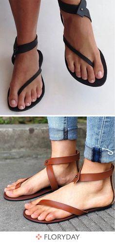 1a271adac92 Des sandales simples et confortables pour vous. Sandales Simples