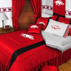 Arkansas Razorback Comforter Set