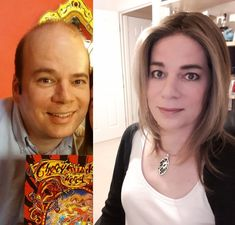 45 MtF, -1 year vs. 10 months HRT and 40 pounds weight loss. Hopefully a mid-40s girl is allowed! : transtimelines