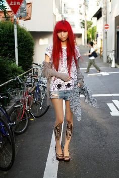 Japanese Girls Fashion 2014 Japanese street style