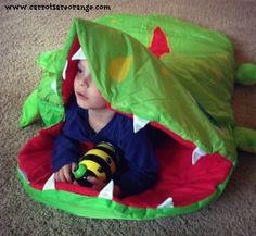 Kids love ownership of their own sleeping bag!