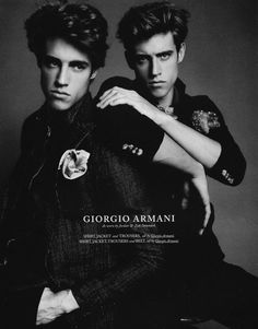 Jordan & Zac Stenmark Exude Modern Elegance for Hercules -   The Fashionisto: The Latest in Fashion from Runway to Print