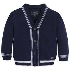 Art 26-01332-023 Casaco tricô Azuis - Mayoral
