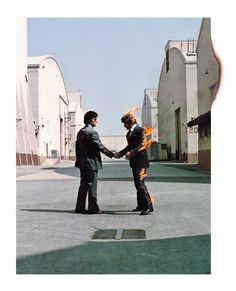 Pink Floyd - Wish You Were Here by Storm Thorgerson and Aubrey Powell and George Hardie | Hypergallery Album Art Prints