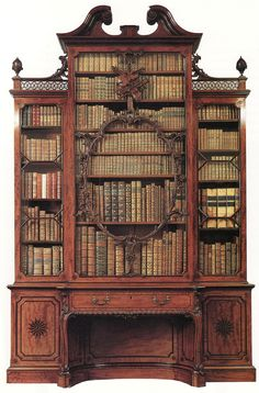 The bookcase of our dreams...