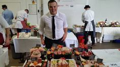 Our Joe taking place in the Dalziel Young Butcher challenge 2014 World Famous, Challenge