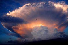 looks like a volcano