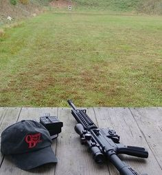 Love spending time at the shooting range on the weekends.