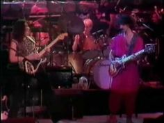 Frank Zappa. A late show special