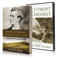 If you love Oswald Chambers, travel back to Scotland and England and see the places where he quietly wrote wonderful things!