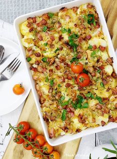 Polish Recipes, Potato Casserole, Diet And Nutrition, Meal Planning, Side Dishes, Healthy Lifestyle, Healthy Living, Food And Drink, Potatoes