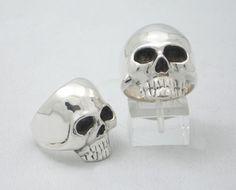 Skull ring on etsy