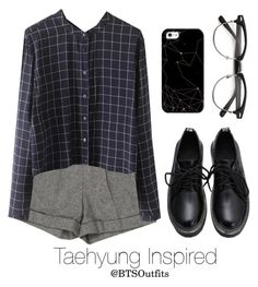 """Basic Colors: Taehyung"" by btsoutfits ❤ liked on Polyvore featuring Alice + Olivia and Casetify"