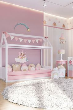 Feb 2020 - This Pin was discovered by Liz Canchila. Discover (and save!) your own Pins on Pinter Little Girl Bedrooms, Big Girl Rooms, Girls Bedroom, Baby Room Decor, Bedroom Decor, Girl Bedroom Designs, Toddler Rooms, Daughters Room, Kids Room Design