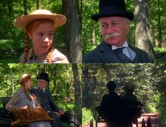 Anne of Green Gables Mathew and Anne
