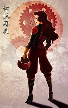 Asami Sato-We Ride by Chukairi.deviantart.com on @deviantART