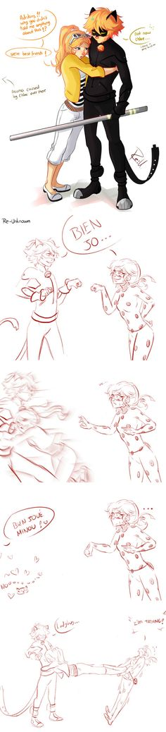 If Chloe found out Adrien was Chat Noir~ (Miraculous Ladybug, lol)
