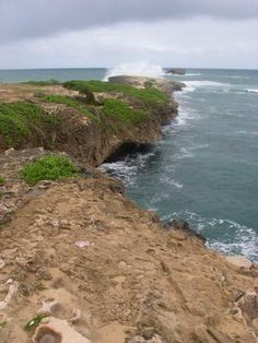 """Laie Point - This is where they filmed the cliff jumping scene from """"Forgetting Sarah Marshall"""""""