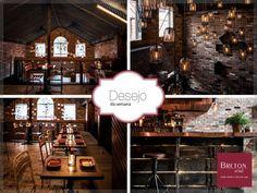 Quem disse que uma décor industrial não proporciona aconchego? O Donny's Bar & Restaurant, na Austrália, prova o contrário. O ambiente rústico, com diversos objetos de ferro e madeira, dá um show de estilo aos apaixonados por decoração.#BretonActual #DesejodaSemana #DécorIndustrial