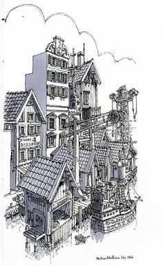 dock by Mattias Adolfsson, via Flickr  This guy rocks. His concepts are so fresh!!