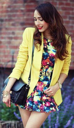 Color Splash  by Preppy Fashionist