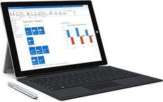 Surface z Microsoft Dynamics NAV