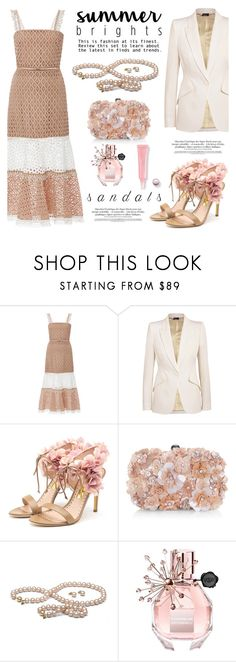 """Summer brights!"" by pearlparadise ❤ liked on Polyvore featuring Alexis, Alexander McQueen, Rupert Sanderson, Accessorize and Viktor & Rolf"