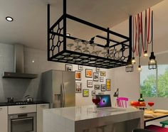 Black Wire Steel Rack kitchen renotalk - Google Search